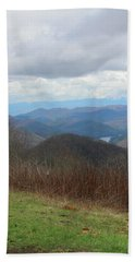 View From Silers Bald 2015c Bath Towel