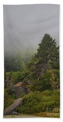 View From The Beach Hand Towel by Mark Alder