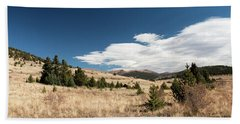 View From Vindicator Valley Trail Hand Towel
