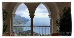 View Of Amalfi Coast Bath Towel