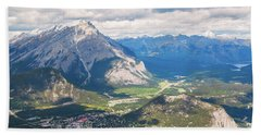 View Of Banff Hand Towel