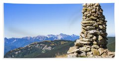 View Of The Apuan Alps Bath Towel