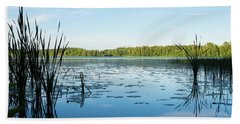 View Of The Lake Enajarvi Hand Towel