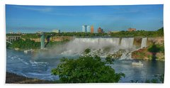 View Of Usa From Canada Bath Towel