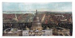 View Of Washington Dc Hand Towel