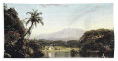 View On The Magdalena River Hand Towel