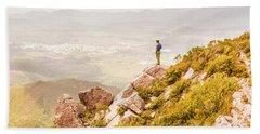 Views On West Coast Tasmania  Hand Towel