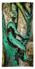 Vigeland Boy In Tree Fountain Hand Towel by KG Thienemann