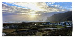 Vik Iceland Sunrays 7028 Hand Towel