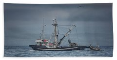 Hand Towel featuring the photograph Viking Tide by Randy Hall