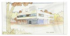 Villa Savoye Le Corbusier Hand Towel