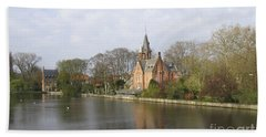 Bath Towel featuring the photograph Village Church by Victoria Harrington