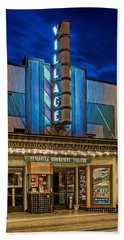 Village Theater Hand Towel by Jerry Gammon