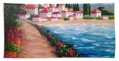 Villas By The Sea Hand Towel