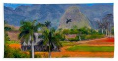 Vinales Valley. Cuba Bath Towel