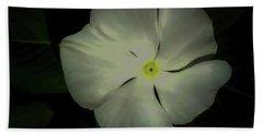 Vinca Bloom Night Glow Bath Towel