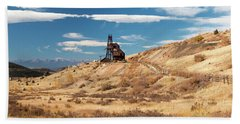 Vindicator Valley Mine Trail Bath Towel