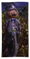 Vineyard Scarecrow Hand Towel