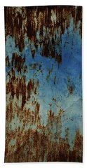 Bath Towel featuring the photograph Vintage Ancient Door Almeria Mountain Spain by Colette V Hera Guggenheim