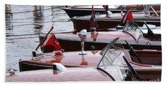 Vintage Boats Hand Towel