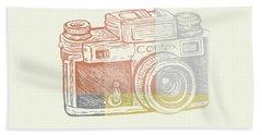 Vintage Camera 2 Bath Towel