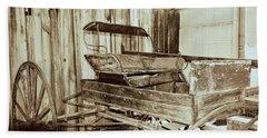 Vintage Carriage Bath Towel by Ray Shrewsberry