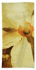 Vintage Daffodil Haze Bath Towel