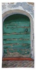 Vintage Series #2 Door Bath Towel