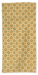 Vintage End Paper Pattern From Queen Of Spades By Alexandr Sergeevich Pushkin Bath Towel