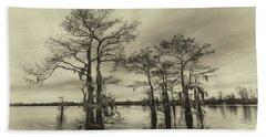 Vintage Henderson Swamp  Hand Towel