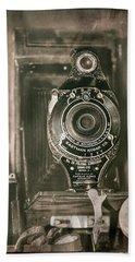 Vintage Kodak Camera Hand Towel