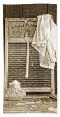 Vintage Laundry Room Bath Towel