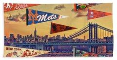 Vintage New York Mets Hand Towel