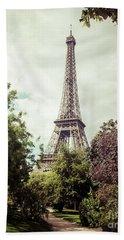 Vintage Paris Bath Towel