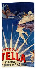 Vintage Petroleum Ad 1897 Hand Towel by Padre Art