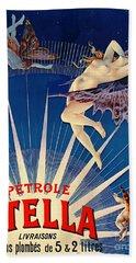 Vintage Petroleum Ad 1897 Bath Towel