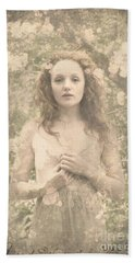 Vintage Portrait Bath Towel