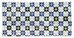 Vintage Portuguese Tiles Hand Towel