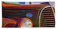 Vintage Rust N Colors Hand Towel