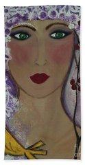 Violet Queen Hand Towel