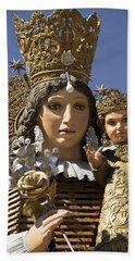 Virgen De Los Desamparados Hand Towel