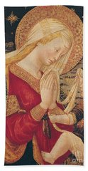 Virgin And Child  Hand Towel