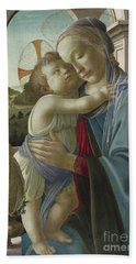 Virgin And Child With An Angel Bath Towel