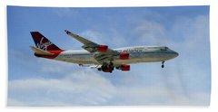Virgin Atlantic Boeing 747-443 Bath Towel