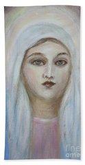 Virgin Mary Bath Towel