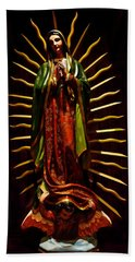 Virgin Of Guadalupe Hand Towel