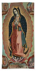 Virgin Of Guadalupe Bath Towel