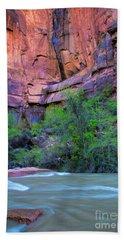 Virgin River Zion National Park Hand Towel