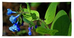 Virginia Bluebells Bath Towel