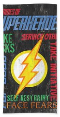 Virtues Of A Superhero 2 Hand Towel